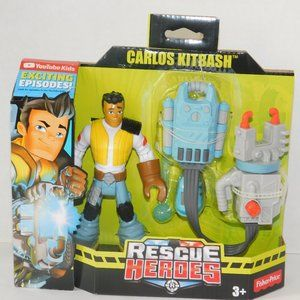 Rescue Heroes Carlos Kitbash Mechanic Rescue Cadet